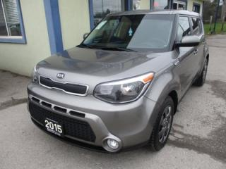Used 2015 Kia Soul GAS SAVING GDI EDITION 5 PASSENGER 1.6L - DOHC.. ACTIVE-ECO PACKAGE.. AUX/USB INPUT.. BLUETOOTH SYSTEM.. KEYLESS ENTRY.. for sale in Bradford, ON