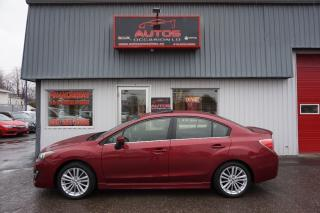 Used 2015 Subaru Impreza 2.0i AWD SPORT PACKAGE PZEV AUT TOIT CAMERA 61 588 for sale in Lévis, QC