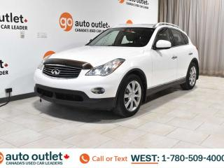 Used 2010 Infiniti EX35 AWD, POWER WINDOWS & SEATS, HEATED SEATS, STEERING WHEEL CONTROLS, CRUISE CONTROL, A/C, NAVIGATION, BACKUP CAMERA, SUNROOF for sale in Edmonton, AB