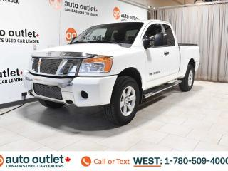 Used 2009 Nissan Titan Xe, 5.6L V8, 4x4, King Cab, Long box, Cloth seats, Tow/Haul for sale in Edmonton, AB