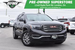 Used 2017 GMC Acadia SLE-2 - One Owner, Low Mileage for sale in London, ON