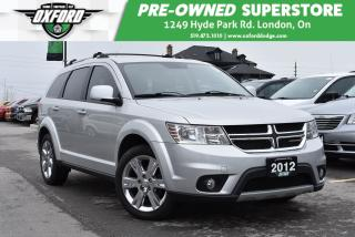 Used 2012 Dodge Journey SXT & Crew - UConnect/Bluetooth, Rear Air Conditio for sale in London, ON