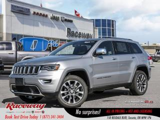 Used 2018 Jeep Grand Cherokee Limited - Demo, Panoramic Roof, Reduced for sale in Etobicoke, ON