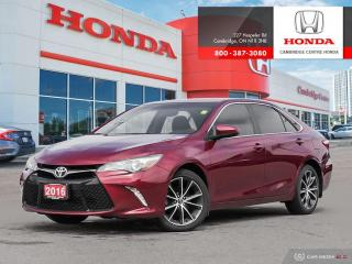 Used 2016 Toyota Camry XSE GPS NAVIGATION SYSTEM | HEATED SEATS | REARVIEW CAMERA WITH GUIDELINES for sale in Cambridge, ON