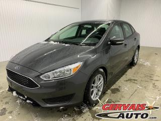 Used 2017 Ford Focus SE A/C MAGS Bluetooth *Bas Kilométrage* for sale in Shawinigan, QC