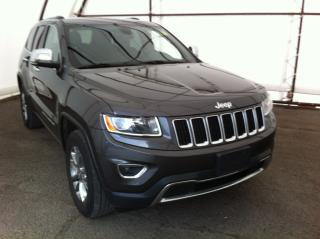 Used 2015 Jeep Grand Cherokee Limited POWER TAILGATE, HEATED SEATS FRONT AND REAR, PARK SENSE for sale in Ottawa, ON