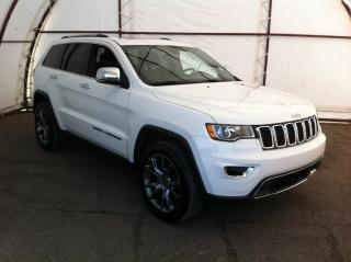 Used 2018 Jeep Grand Cherokee Limited UPGRADED ALUMINUM SPORT WHEELS, POWER LIFTGATE, FACTORY REMOTE STARTER, REVERSE CAMERA, NAVIGATION for sale in Ottawa, ON