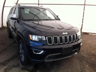 Used 2018 Jeep Grand Cherokee Limited POWER LIFTGATE, POWER SUNROOF, HEATED SEATS FRONT AND REAR for sale in Ottawa, ON