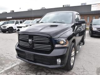 Used 2015 RAM 1500 Sport REMOTE STARTER/SPORT HOOD/REAR CAMERA for sale in Concord, ON