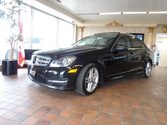 2012 Mercedes-Benz C-Class AMG PACK AUTO 4MATIC AWD NAVIGATION PANORAMIC BACK