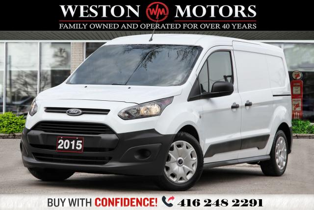 2015 Ford Transit Connect XL*DUAL SLIDING DOORS*LEATHER*SHELVING!!