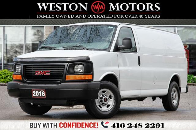 2016 GMC Savana 3500 4.8L*POWER GROUP*SHELVING!!*
