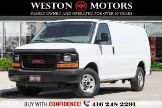 Used 2016 GMC Savana 3500 4.8L*POWER GROUP*READY FOR WORK!!*WOW ONLY 69KM!!* for sale in Toronto, ON