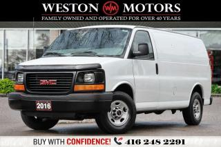 Used 2016 GMC Savana 3500 4.8L*POWER GROUP*SHELVING*WOW ONLY 59KM!!!*!!* for sale in Toronto, ON