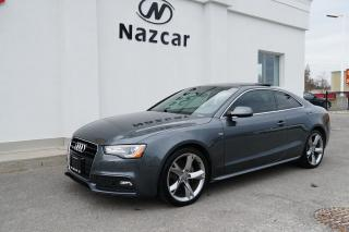 Used 2014 Audi A5 NAVIGATION / PANO ROOF / AWD for sale in East Gwillimbury, ON