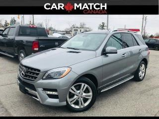 Used 2014 Mercedes-Benz ML-Class ML 350 BlueTEC / NAV / PANO ROOF / LEATHER for sale in Cambridge, ON