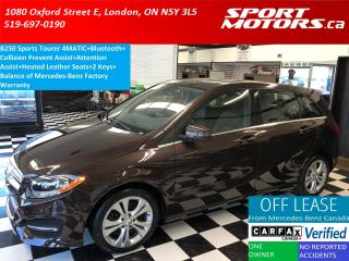 Used 2015 Mercedes-Benz B-Class B250 4MATIC Sports Tourer+Collision Alert+HTD Seat for sale in London, ON