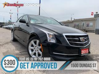 Used 2015 Cadillac ATS 2.0L Turbo | LEATHER | ROOF | HEATED SEATS | CAM for sale in London, ON