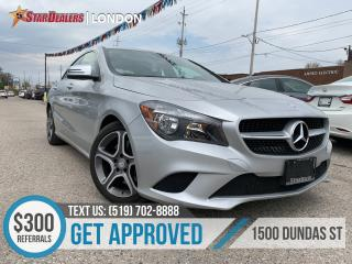 Used 2016 Mercedes-Benz CLA-Class 250 4MATIC | LEATHER | 1OWNER | NAV | CAM for sale in London, ON