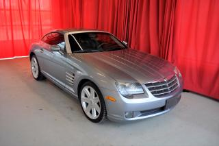 Used 2005 Chrysler Crossfire Crossfire Ltd. | Coupe | Leather | Cruise Control for sale in Listowel, ON