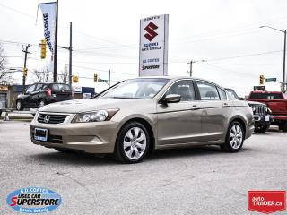 Used 2009 Honda Accord EX-L ~Heated Leather ~Power Moonroof ~VERY CLEAN for sale in Barrie, ON