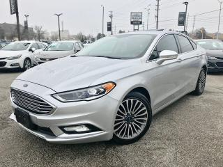Used 2017 Ford Fusion SE Navi|Sunroof|Remote Start|AWD for sale in Mississauga, ON