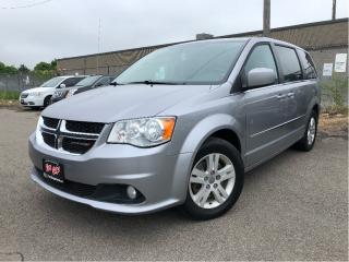Used 2016 Dodge Grand Caravan Crew Nice Trade In! 3rd Row Fold Away Seating for sale in St Catharines, ON