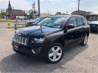 Used 2014 Jeep Compass Sport/North Leather Moonroof Heated Front Seats for sale in St Catharines, ON