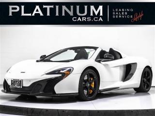 Used 2015 McLaren 650S SPIDER, Carbon EXT & Interior PKG, Ceramic Brakes for sale in Toronto, ON