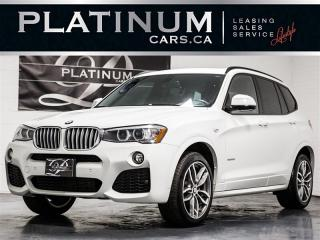 Used 2017 BMW X3 xDrive28i M-SPORT, NAVI, PANO, CAM, Heated Lthr for sale in Toronto, ON