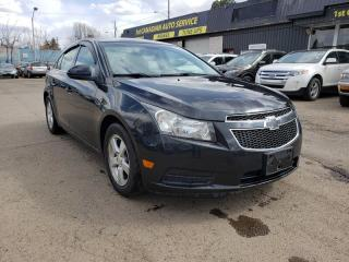 Used 2014 Chevrolet Cruze LT-LOW KM-BACKUP CAMERA-LOW Monthly PAYMENTS!! for sale in Edmonton, AB