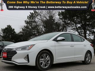 Used 2019 Hyundai Elantra Sunroof| Heat Seat Steer| Backup Cam| B-Tooth for sale in Stoney Creek, ON
