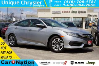 Used 2016 Honda Civic LX| REAR CAM| HEATED SEATS| APPLE CAR PLAY & MORE for sale in Burlington, ON