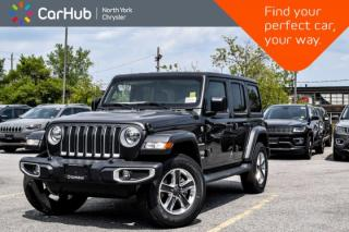 New 2019 Jeep Wrangler Unlimited Sahara New Car Tech.Pkg Bluetooth Keyless.Go Voice.Command  for sale in Thornhill, ON