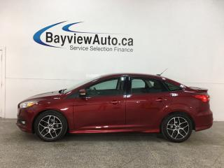 Used 2015 Ford Focus SE - 6SPD! A/C! ALLOYS! 36,000KMS! LOADED! for sale in Belleville, ON