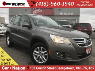 Used 2010 Volkswagen Tiguan 2.0 TSI Trendline | ALLOYS | FOG LIGHTS| PWR GROUP for sale in Georgetown, ON