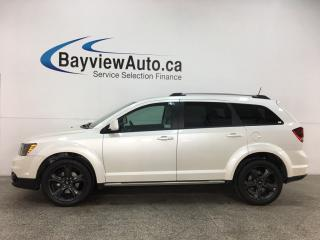 Used 2018 Dodge Journey Crossroad - 16,000KMS! 7PASS! LTHR! SUNROOF! DVD! NAV! for sale in Belleville, ON