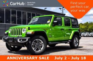 New 2019 Jeep Wrangler Unlimited Sahara 4x4 SiriusXM Bluetooth Keyless Go for sale in Thornhill, ON