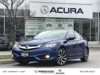 Used 2016 Acura ILX A-Spec Navi, Heated Seats, Fog Lights for sale in Markham, ON