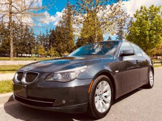 Used 2008 BMW 5 Series 4dr Sdn 535i for sale in Surrey, BC