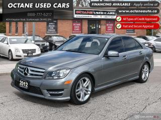 Used 2012 Mercedes-Benz C-Class C 250! 4MATIC! for sale in Scarborough, ON