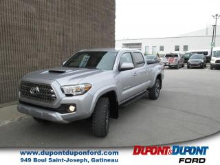 Used 2017 Toyota Tacoma TRD Sport Double Cab V6 4RM BA NAVIGATIO for sale in Gatineau, QC