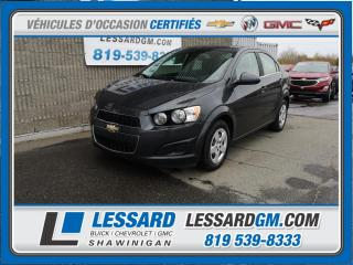Used 2015 Chevrolet Sonic Lt, Camera De Recul for sale in Shawinigan, QC