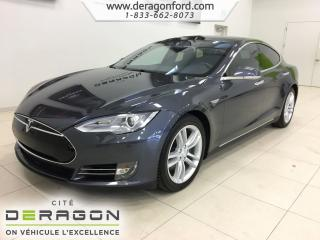 Used 2016 Tesla Model S 90d 1 Climat for sale in Cowansville, QC