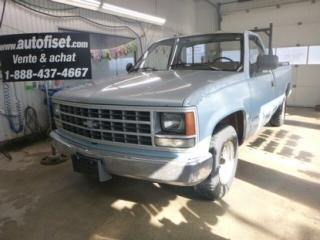 Used 1989 Chevrolet Silverado 1500 for sale in St-Raymond, QC