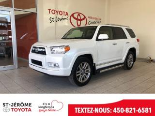 Used 2013 Toyota 4Runner Ltd Cuir Toit for sale in Mirabel, QC