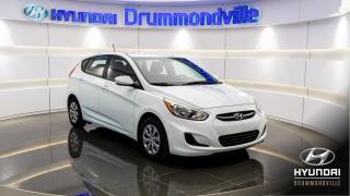 Used 2017 Hyundai Accent L + GARANTIE + ÉCONO. !! for sale in Drummondville, QC