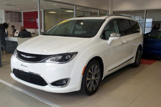 Used 2017 Chrysler Pacifica Familiale 4 portes Limited for sale in Beauport, QC