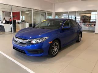 Used 2016 Honda Civic 4 portes, boîte manuelle, LX for sale in Beauport, QC