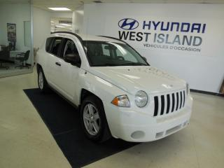 Used 2007 Jeep Compass 2.4L AUTO 4 ROUES MOTRICE for sale in Dorval, QC